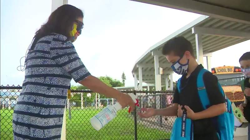 Despite safety measures, thousands of schools across Florida have confirmed COVID-19 cases.
