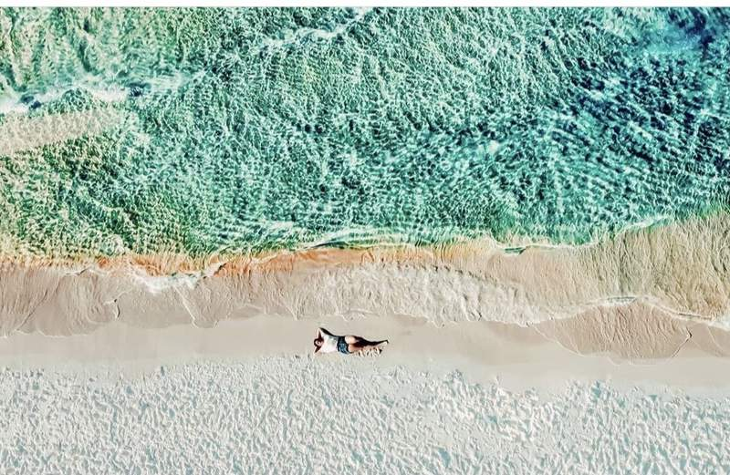 Grayton Beach on Florida's panhandle facing the Gulf Coast has been named one of the country's best beaches. Photo: Alexis Howard on Instagram (@alexisnicolephotography1).