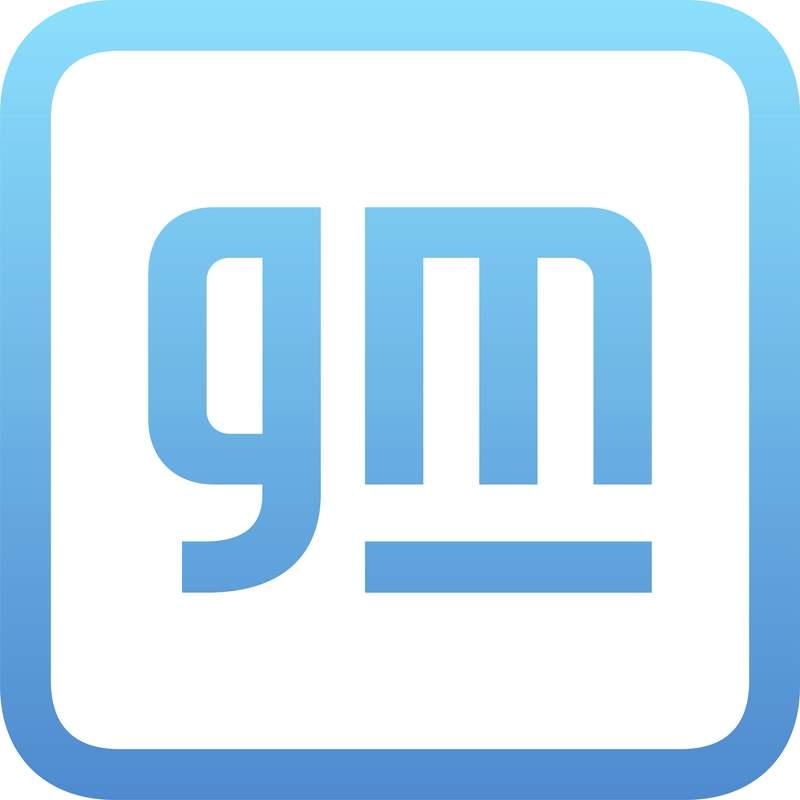 El logo de General Motors. (General Motors via AP)