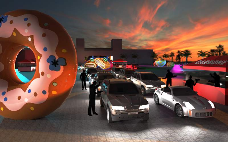 Resy Drive-Thru Miami is a one-of-a-kind experience featuring a 10-course menu from Miami's favorite restaurants.