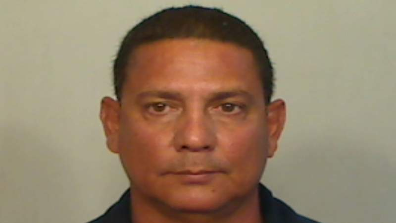 Jorge Perez, 50, is accused of threatening to kill his ex-girlfriend and her roommate with a knife.