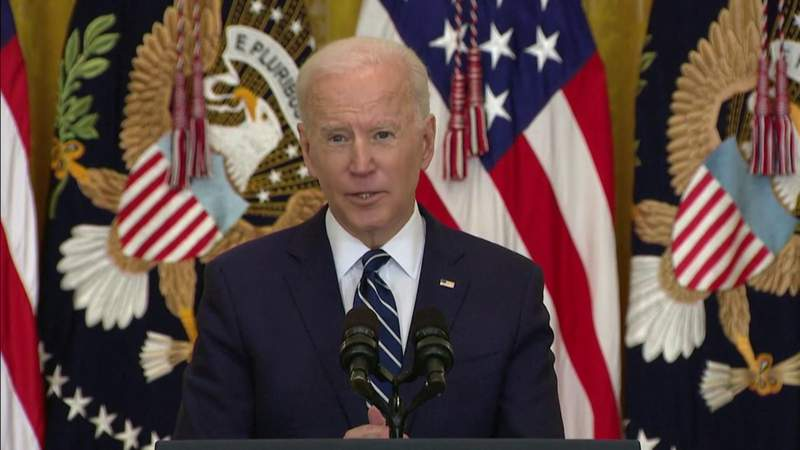 Biden faces questions on immigration, filibuster, foreign policy