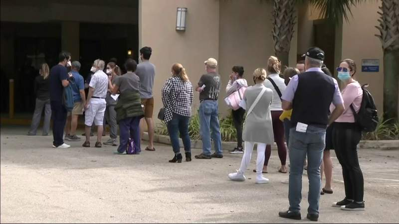Broward Health at capacity for COVID-19 vaccine appointments through February