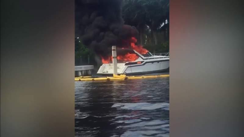 Boat explosion in Fort Lauderdale leaves 13 injured