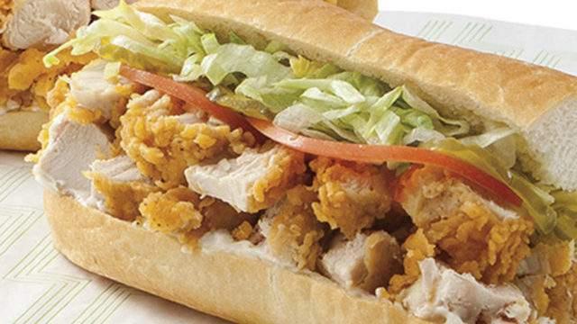 File photo of chicken tenter sub courtesy of Publix.