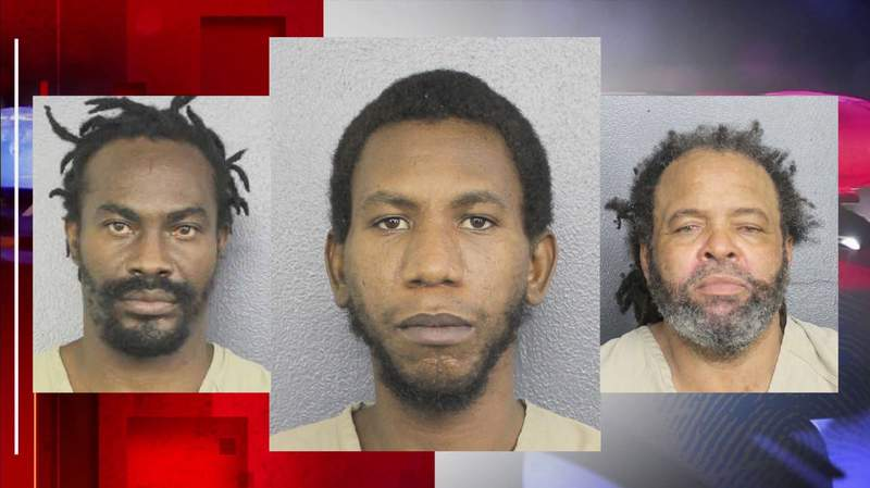 Accused migrant smuggler, Jeremy Rolle, and two previously deported convicted migrants, Andrew Devaunx and Marvin Morris Carridice.
