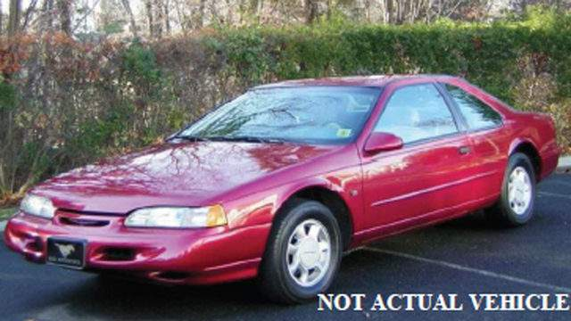 Police said a Ford Thunderbird similar to the one pictured above was involved in the hit-and-run crash.