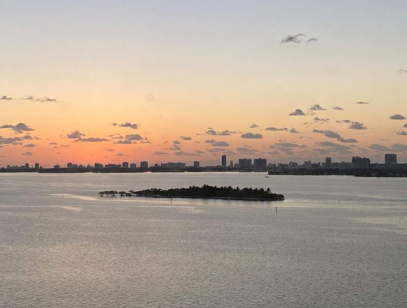 Morning in Miami, April 5.