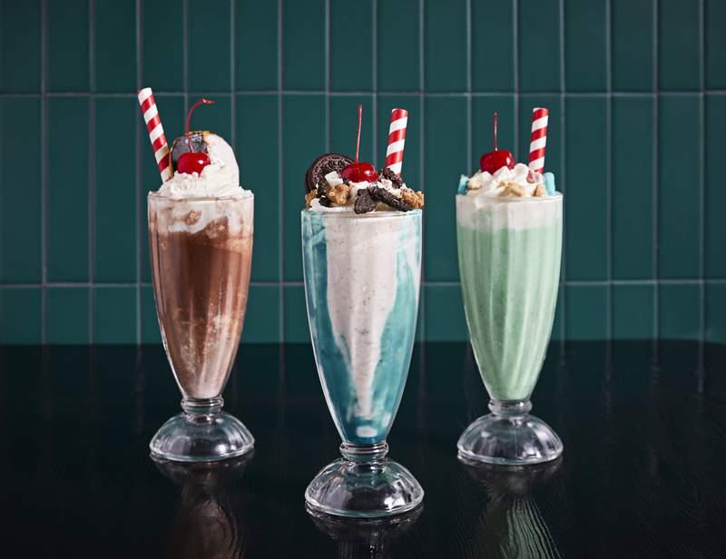Winker's Diner Milkshakes.