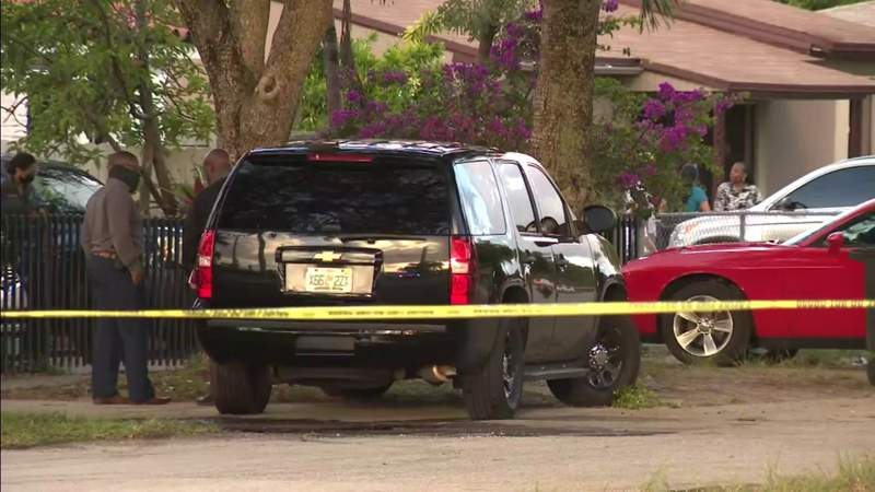 2 homes shot up in North Miami