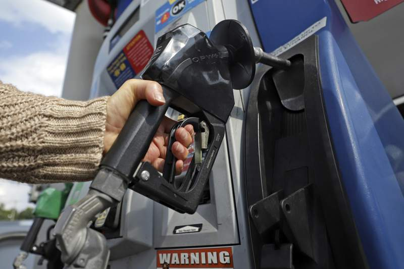 Gas prices could continue to fall as demand shrinks amid the coronavirus pandemic.
