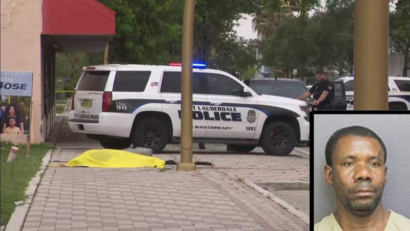 Joseph Jean, 51, was arrested in connection to a woman's stabbing death Saturday in Fort Lauderdale.