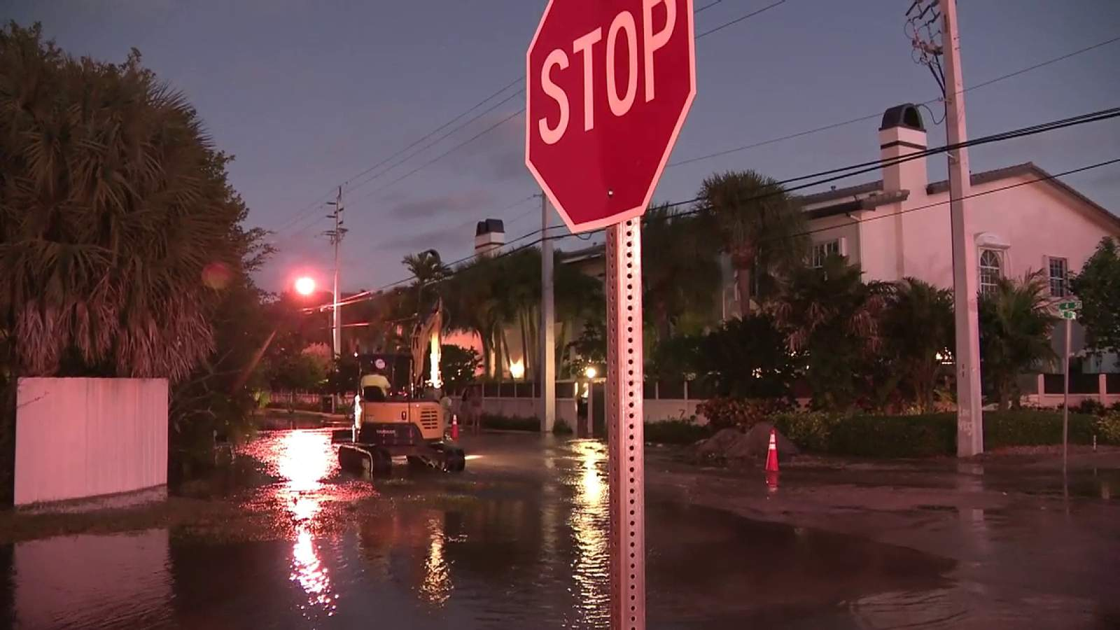 Water main break causes more flooding in Fort Lauderdale