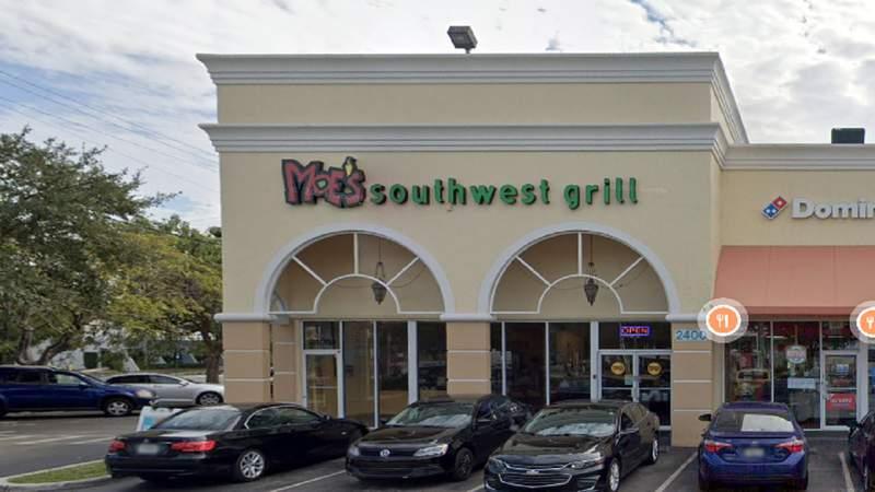Moe's Southwest Grill in Tamarac.