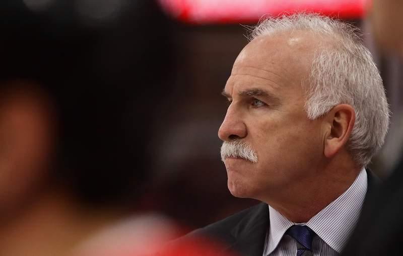 Florida Panthers head coach Joel Quenneville.