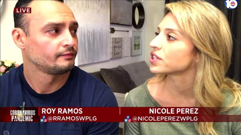 Local 10 News journalists say their coronavirus symptoms differ