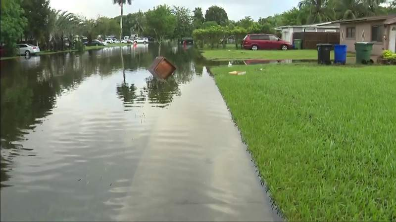 Broward County residents dealing with flooding following days of pounding rain