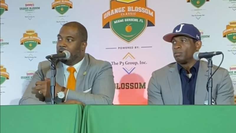 Dion Sanders returning to Hard Rock Stadium as college head coach