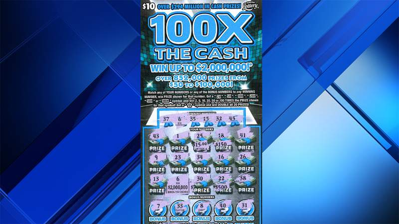 This scratch-off ticket revealed a $2 million top prize for 67-year-old woman from Port St. Lucie.