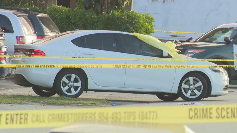 BSO deputies confirmed two men were shot Tuesday morning. One man was pronounced dead at the scene while the other was taken to a nearby hospital with life-threatening injuries.