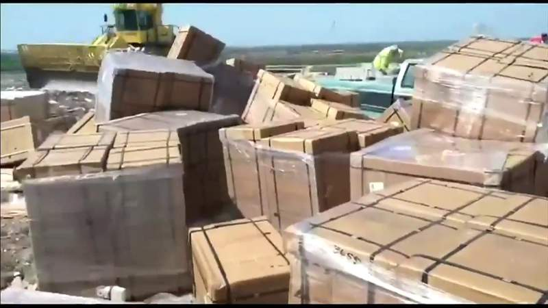 Learning more about brand-new ventilators found dumped in Miami-Dade landfill