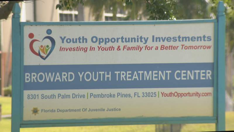 Broward Youth Treatment Center in Pembroke Pines, Florida.