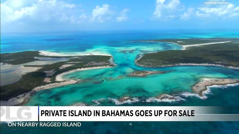 You could own the Bahamas' largest private island
