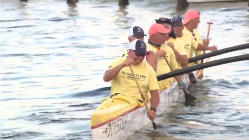 Navy Seal veterans go on canoe journey to raise money for charities