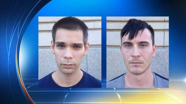 Authorities arrested Viktor Berki, left, and Andras Janos Vass, right, in New York. Gabir Acs, not shown, was arrested in Miami in 2013. The three are being accused of turning three Hungarian men into sex slaves.