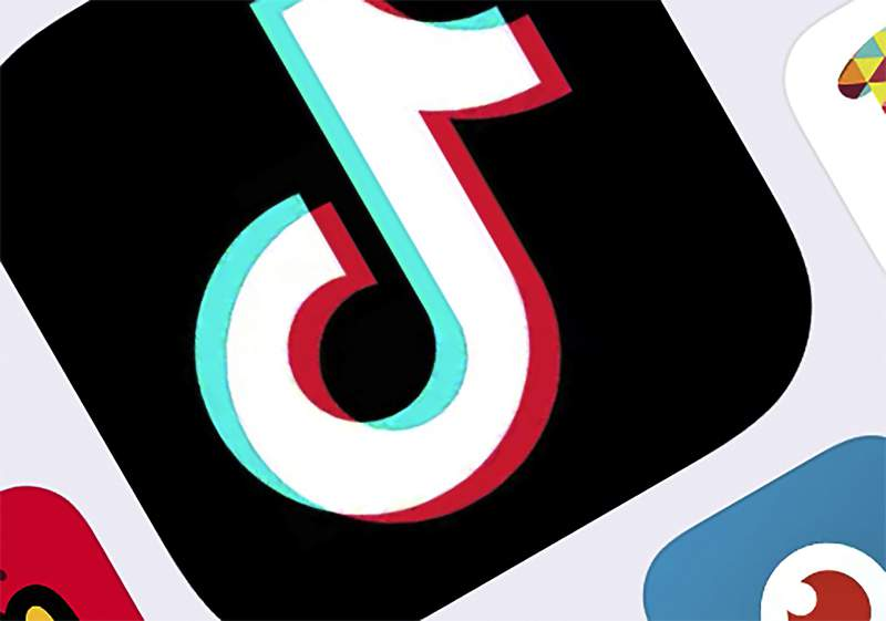 FILE - This Feb. 25, 2020, file photo shows the icon for TikTok in New York. The social media app shared its list of top 100 videos, creators and trends in America in 2020. In action announced Monday, Dec. 14, 2020, federal regulators are ordering Facebook, Twitter, Amazon, TikToks parent and five other social media companies to provide detailed information on how they collect and use consumers personal data and how their practices affect children and teens. (AP Photo/File)
