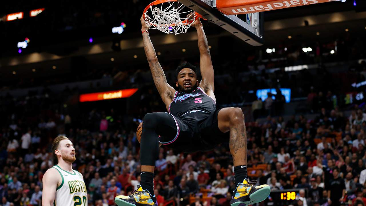 Report: Miami Heat's Derrick Jones Jr. to participate in 2020 NBA ...