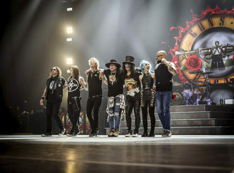 Guns N' Roses are playing two nights at the Seminole Hard Rock in South Florida.