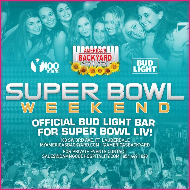 America's Backyard Super Bowl LIV