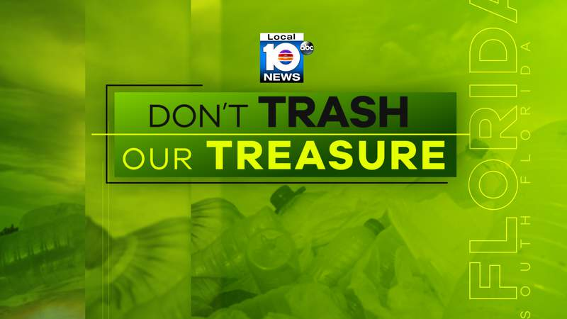 Don't Trash Our Treasure is a new Local 10 News environmental initiative.