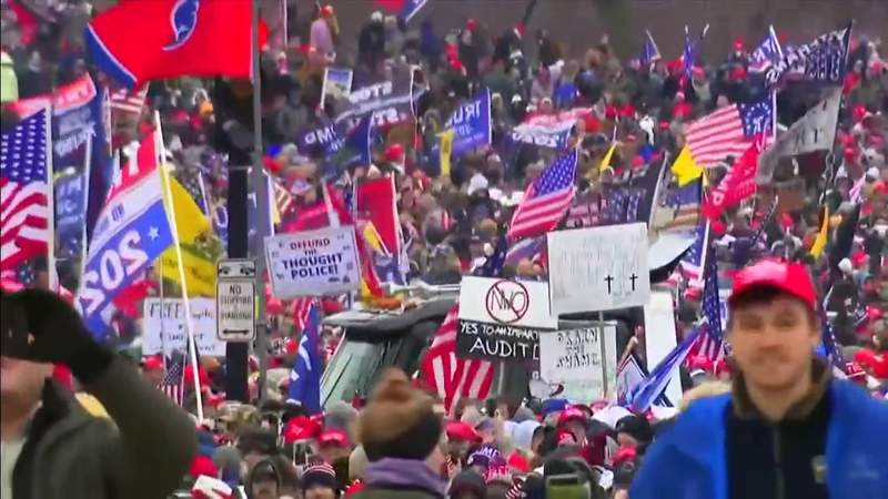 Local law enforcement on alert as armed protests planned ahead of inauguration