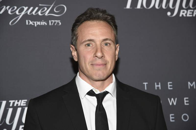 FILE - Chris Cuomo attends The Hollywood Reporter's annual Most Powerful People in Media cocktail reception on April 11, 2019, in New York. Cuomo emerged as a central figure in the latest damaging stories about his older brother, New York Gov. Andrew Cuomo. According to published reports, Cuomo family members, including Chris, got special treatment a year ago when it came to COVID testing. (Photo by Evan Agostini/Invision/AP, File)