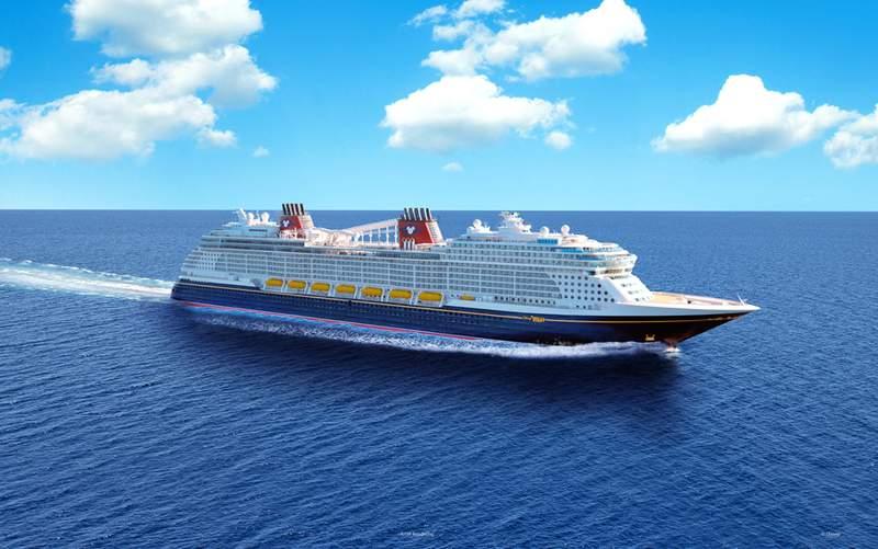 Disney Cruise Line ship.
