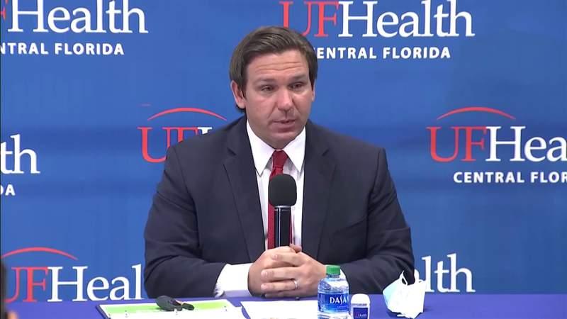 Florida Gov. Ron DeSantis defends response to coronavirus pandemic