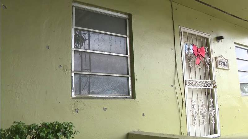 Family thinks they were wrongly targeted after Miami Gardens home is riddled with bullets