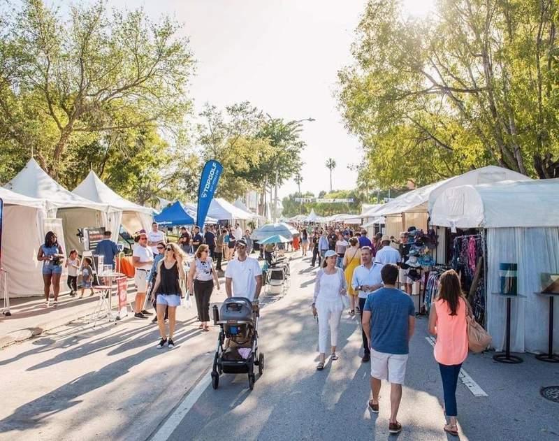 The Coconut Grove Arts Festival returns at full capacity in 2022.