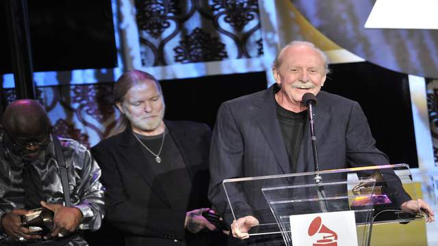 Butch Trucks, pictured here in 2012, was found dead Tuesday night in West Palm Beach.