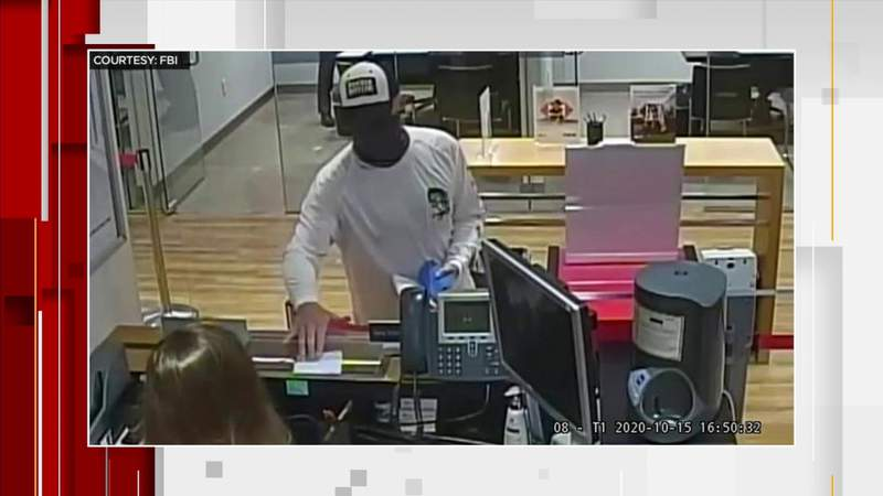 FBI releases photos from Coral Gables bank robbery