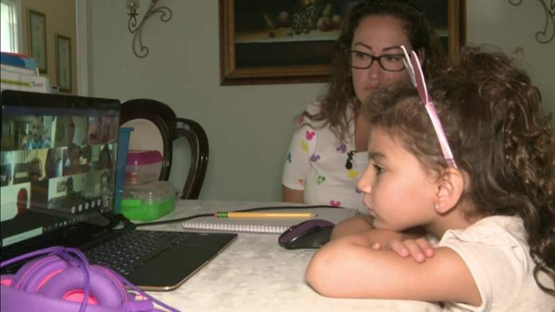 Bumpy road for first days back to school for parents, kids and teachers