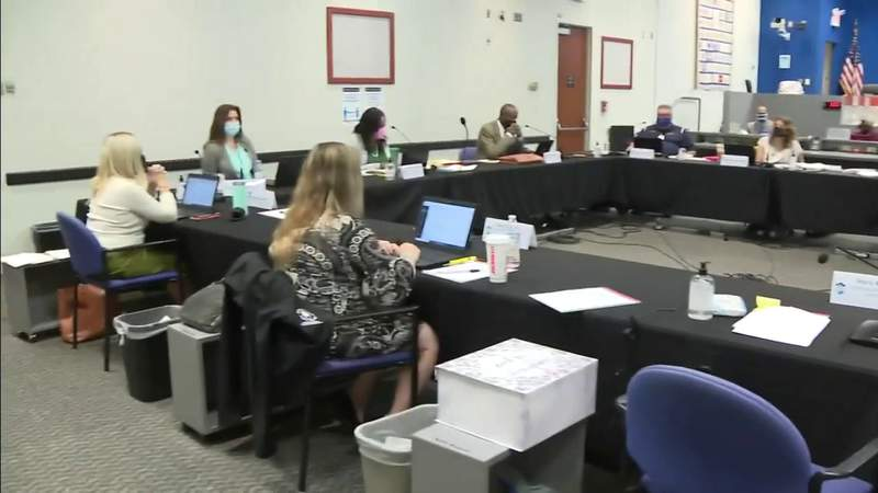 School board meets to discuss future of school after March roof collapse