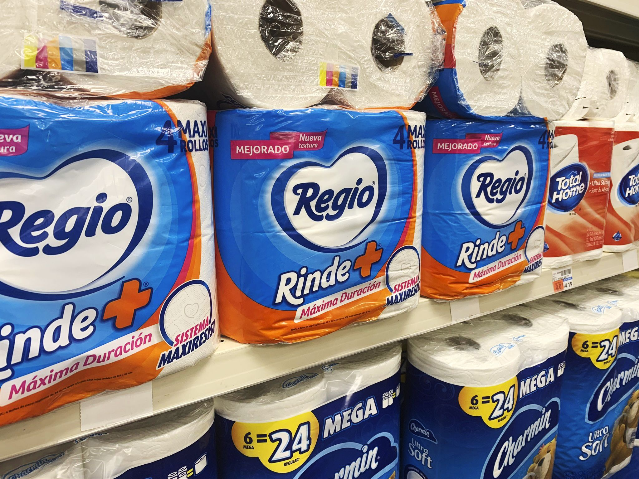 Pandemic brings toilet paper from Mexico to American stores