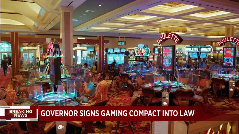 Florida's gambling compact has been signed into law