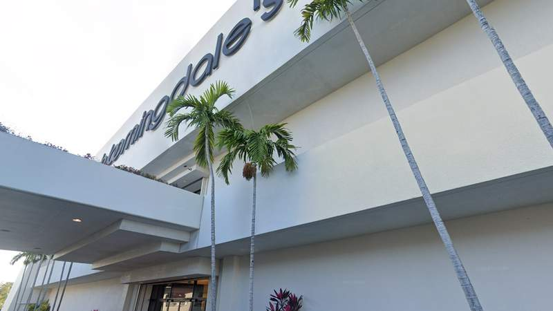 Bloomingdale's at The Falls shopping center is scheduled to close this spring
