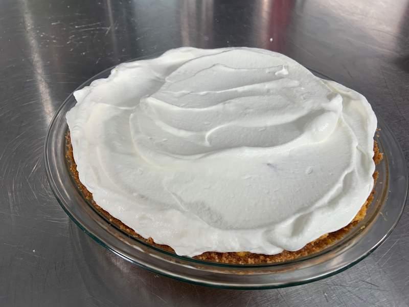 Pumpkin Chiffon Pie