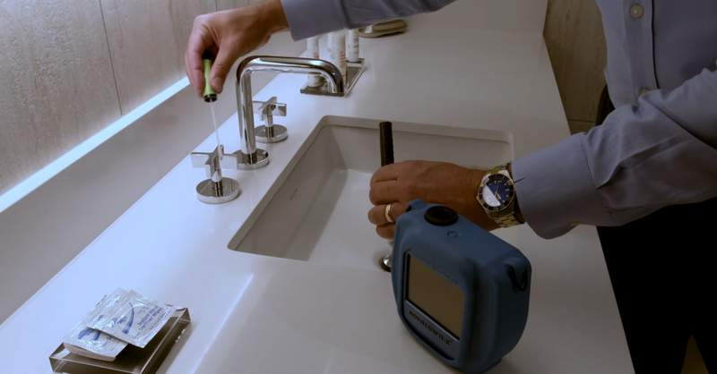 The American Automobile Association plans to inspect the surfaces at hotels to verify if they have been sanitized.