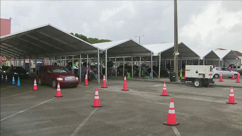 Long lines return to rapid COVID-19 testing sites in Miami-Dade County